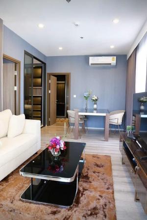 For RentCondoRama9, RCA, Petchaburi : Condo for rent Ideo Mobi Asoke 💥 2 bedrooms, 1 bathroom 💥 built-in, beautiful, luxurious, north balcony, convenient transportation, near MRT Phetchaburi, near Air Port Link Makkasan, near Si Rat Expressway Potential location in the heart of the business d