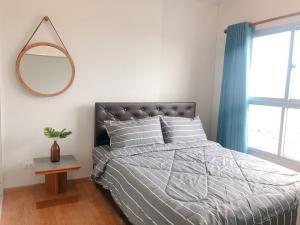 For RentCondoBang kae, Phetkasem : 🌼☀️💛For Rent The Parkland Phetkasem - 1Bed , size 35 sq.m., Beautiful room, fully furnished.🌼☀️💛