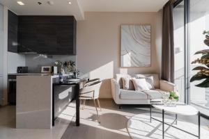 For RentCondoSukhumvit, Asoke, Thonglor : ปล่อยเช่าราคาพิเศษช่วงโควิด The Esse Asoke by Singha Estate  1 ห้องนอน ขนาด 37 ตรม. ชั้น 26 ทิศตะวันออก (ห้องมุม)
