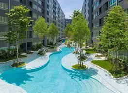 For RentCondoKasetsart, Ratchayothin : 🎊เช่า🎊 (เช่า❤️16,500) ห้อง 2 bed 47ตรม. Elio del moss ซอยพหลโยธิน34 ตึก B ชั้น 8 วิวสระว่ายน้ำ