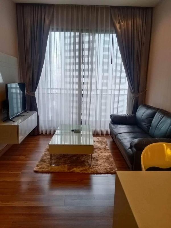 For RentCondoRatchadapisek, Huaikwang, Suttisan : Y21240721  ให้เช่า/For Rent Condo Ivy Ampio (ไอวี่ แอมพิโอ) 1นอน 45ตร.ม ห้องสวย เฟอร์ครบ มีอ่างอาบน้ำ พร้อมอยู่