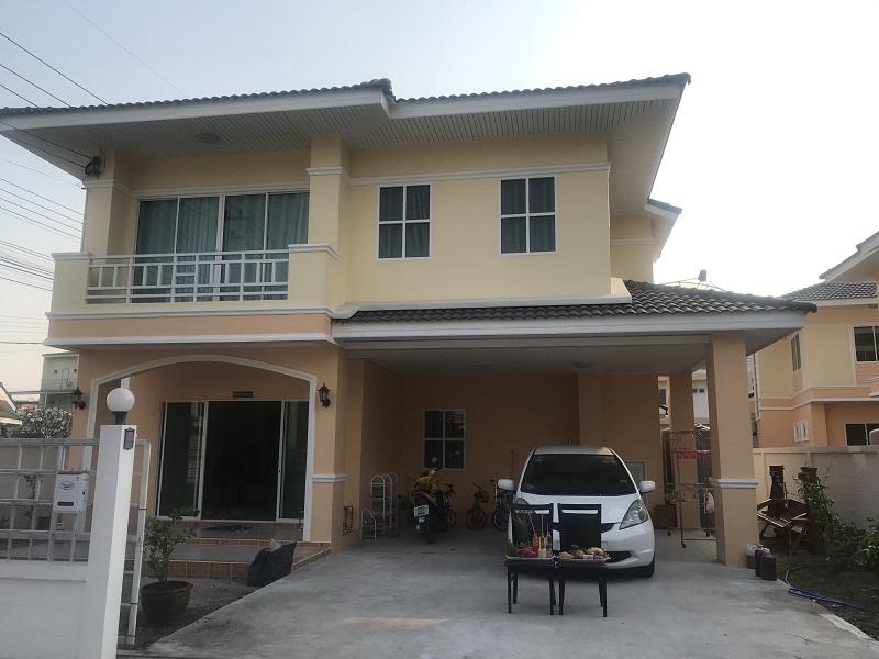 ขายบ้านพัทยา บางแสน ชลบุรี : ขายบ้านเดี่ยว 2 ชั้น บ้านพิมพาภรณ์ 7 ถนนสุขุมวิท ต.หนองไม้แดง อ.เมือง จ.ชลบุรี