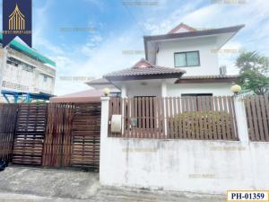 For SaleHouseOnnut, Udomsuk : บ้านสร้างเอง บางจาก พระโขนง ทำเลดีใกล้ BTS สถานีอุดมสุข