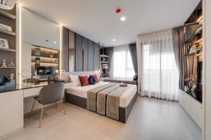 ขายคอนโดลาดพร้าว เซ็นทรัลลาดพร้าว : Life Ladprao (ไลฟ์ ลาดพร้าว) Studio 1 ห้องนอน ราคาพิเศษ เพียง 4.59 ลบ.