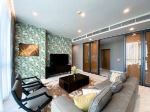 For RentCondoSukhumvit, Asoke, Thonglor : The Monument Thong Lo 2bedroom 2 bathroom 125.2 Sq.M 110k/month Last Unit