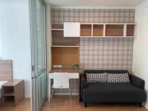 For RentCondoBangna, Lasalle, Bearing : For rent: Lumpini Megacity Bangna 1 bedroom, 27 sq.m., corner unit, furnished, best price!!