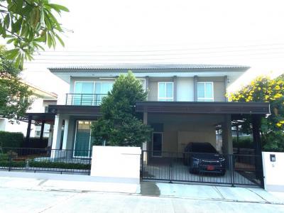 For SaleHouseOnnut, Udomsuk : ขายบ้านเดี่ยว คาซ่า พรีเมี่ยม อ่อนนุช วงแหวน ( casa premium ) 4 นอน 3 น้ำ 59.4 ตรว. บ้านสภาพใหม่ ต่อเติม-ตกแต่งแล้วพร้อมเข้าอยู่