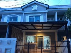 For RentTownhouseSamrong, Samut Prakan : RTJ805ให้เช่าทาวน์โฮมส์ 2ชั้น วิลลาจจิโอ บางนา กม.26ซอย เอแบค บางนา-ตราด กม.26