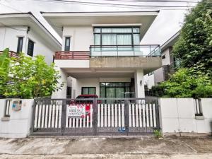 For SaleHouseChengwatana, Muangthong : ขาย บ้านเดี่ยว หมู่บ้านเปี่ยมสุข ติวานนท์56 ต.บ้านใหม่ อ.ปากเกร็ด นนทบุรี ใกล้โรบินสันศรีสมาน ใกล้สนามบินดอนเมือง