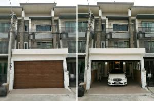 For RentTownhousePattanakan, Srinakarin : Town Home For Rent Srinakarin Area Near Airport Link Hua Mak, Luxury Fully furnished