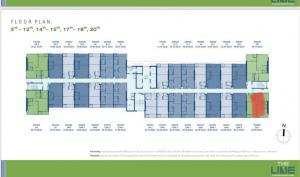 Sale DownCondoLadprao, Central Ladprao : ขาย The Line พหลโยธิน พาร์ค 2ห้องนอน 5.85ล้านเท่านั้น