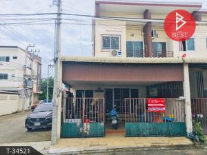 For SaleTownhousePattaya, Bangsaen, Chonburi : ขายทาวน์เฮ้าส์ หมู่บ้านบูรพาแลนด์ หนองค้อ สวนเสือ-ศรีราชา ชลบุรี
