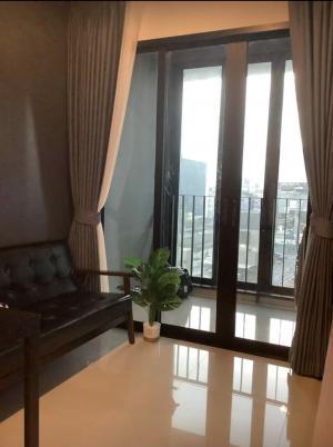 For RentCondoRatchadapisek, Huaikwang, Suttisan : For rent, beautiful room, next to MRT Huai Khwang - Huai Khwang, new built-in condo IDEO Huai Khwang - Ratchada. , Newly decorated, new furniture, 35 sqm, 6th floor. New furniture 😄