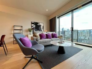 For RentCondoSukhumvit, Asoke, Thonglor : For Rent TELA Thonglor 2 bedroom with fully furnished