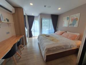 For RentCondoRangsit, Patumtani : ให้เช่า Kave town space ตึกD ชั้น 3 วิวสระ