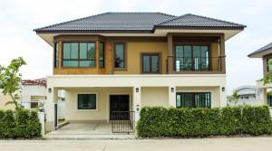 For SaleHouseRangsit, Patumtani : ม.ภิภาพร แกรน 5 บ้านเดี่ยว 2 ชั้นหลังใหญ่ วงแหวนรังสิตคลองห้า อ.คลองหลวง จ.ปทุมธานี