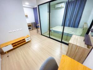 For RentCondoChengwatana, Muangthong : ให้เช่า!! Plum Condo Mix แจ้งวัฒนะ (ห้องใหม่ไม่เคยผ่านการใช้งาน) เฟอร์นิเจอร์+เครื่องใช้ไฟฟ้า พร้อมเข้าอยู่ทันที เพียง 7,000 บาท/เดือน (ฟรีค่าส่วนกลาง) ห้องใหม่มาก!!!