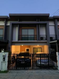 For SaleTownhouseRama5, Ratchapruek, Bangkruai : ทาวน์โฮม 2 ชั้น เนเชอร่าเทรนด์ รัตนาธิเบศร์-ราชพฤกษ์ บ้านสภาพดีมาก หลังบ้านไม่ติดกับใคร
