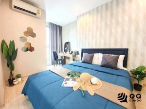 เช่าคอนโดสยาม จุฬา สามย่าน : ให้เช่า Ideo Q Chula-Samyan - 1 ห้องนอน ขนาด 34 ตร.ม. ห้องสวย ใกล้ MRT สามย่าน