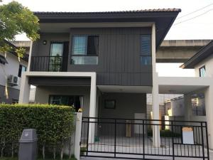 For RentHouseOnnut, Udomsuk : House for rent or sale  at Banklangmueng The edition Rama 9 - Onnut