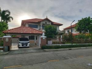 For RentHouseLadkrabang, Suwannaphum Airport : ็็House for rent Supalai Suvarnabhumi Project Supalai Suvarnabhumi Lad Krabang Road Land area 118 sq.wa.