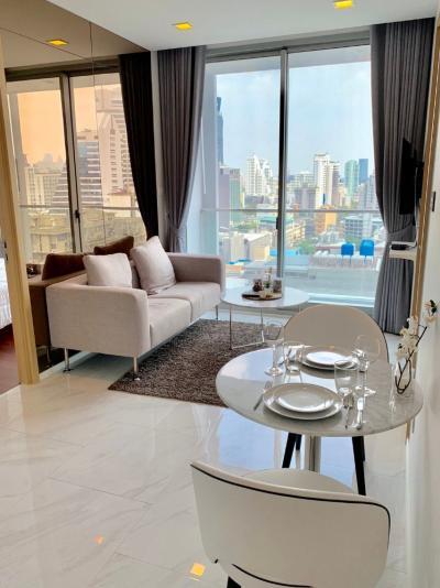 For RentCondoNana, North Nana,Sukhumvit13, Soi Nana : For rent, 2 bedrooms, Hyde Sukhumvit 11, size 53 sq.m., only 35,000/month.