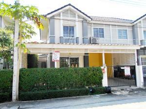 For SaleTownhouseRangsit, Patumtani : ขายถูกที่สุด ทาวน์เฮ้าส์ห้องริม พฤกษาวิลล์ 46/2 คลองสาม คลองหลวง