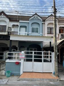 For SaleTownhouseVipawadee, Don Mueang, Lak Si : ขาย : ทาวน์เฮาส์ 2 ชั้น  เนื้อที่ 18 ตรว.🌈หมู่บ้านยิ่งโอฬาร ถนนวิภาวดีรังสิต 43