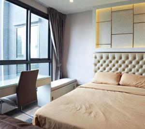 For RentCondoRatchathewi,Phayathai : ✅ ให้เช่า 1ห้องนอน 1ห้องน้ำ ขนาด 29.5 ตร.ม. ชั้น27 เฟอร์นิเจอร์ครบ พร้อมเข้าอยู่ ราคาเช่า 18,000 บาท/เดือน