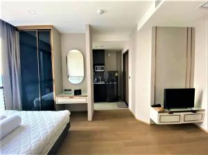 For SaleCondoSiam Paragon ,Chulalongkorn,Samyan : ✅ขาย สตูดิโอ 1ห้องน้ำ  ขนาด 25 ตร.ม. ชั้น 46 เฟอร์นิเจอร์ครบ พร้อมเข้าอยู่ ราคาขาย 6,480,000 บาท