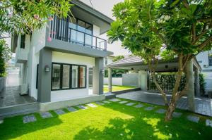For SaleHouseYothinpattana,CDC : A.N - New renovated House for Sale  2-storey, 4 bedrooms, 5 bathrooms, Ladprao, close to Centralfestival east ville,Crystal Park.