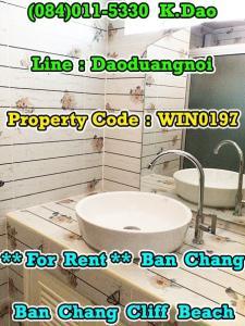 เช่าคอนโดระยอง : Condo for Rent Ban Chang Ban Chang Cliff Beach Condotel Rental Fee 5,000 Baht