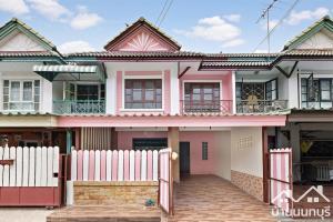 For SaleTownhouseBangbuathong, Sainoi : ทาวน์โฮม 2 ชั้น หมู่บ้านพฤกษา 14 บี บางบัวทอง (ซอยวัดลาดปลาดุก) ปรับปรุงใหม่ พร้อมอยู่
