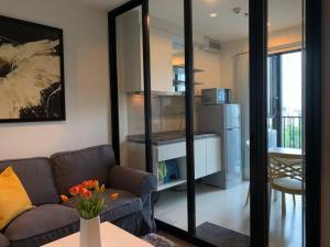 For RentCondoOnnut, Udomsuk : The Base Park West Sukhumvit 77 for rent 1 bedroom 31 sq.m. fl.9 Fully furnished, Ready move in near BTS Onnut