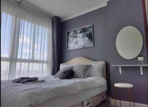 For SaleCondoChengwatana, Muangthong : มาเปลี่ยนค่าเช่าให้เป็นทรัพย์สินของเรากันเถอะ🥰 ห้องแต่งสวย ตามภาพ บนทำเลศักยภาพ แจ้งวัฒนะ คอนโดลุมพินี วิลล์ ปากเกร็ด ห้องขนาด 28.13 ตรม. ห้องใหญ่