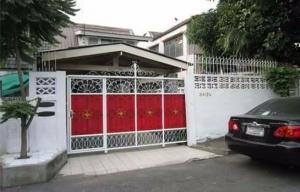 For RentHouseVipawadee, Don Mueang, Lak Si : For rent, 2 storey twin house, Don Mueang Villa Village, Soi Songprapha 16, Bangkok.