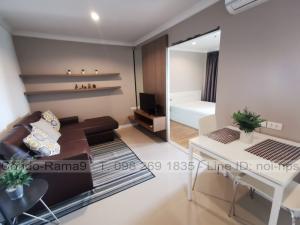 เช่าคอนโดพระราม 9 เพชรบุรีตัดใหม่ : RENT !! Condo Lumpini Place, MRT Rama 9, 1 Bed, B Bl., 20 Fl., Area 37 sq.m., Rent 10,000 .-