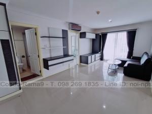 เช่าคอนโดพระราม 9 เพชรบุรีตัดใหม่ : RENT !! Condo Lumpini Place, MRT Rama 9, 2 Beds, Tower A, Floor 14, 71 sq.m., 22,000 Baht