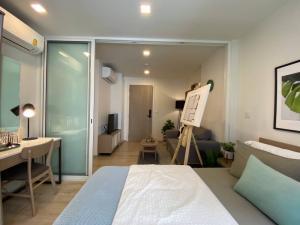ขายคอนโดอ่อนนุช อุดมสุข : คอนโดใกล้ BTS อ่อนนุช แชมเบอร์ส อ่อนนุช สเตชั่น fully-decoration 1 ห้องนอน 3.26 ลบ.