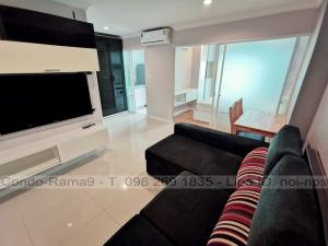 For RentCondoRama9, RCA, Petchaburi : RENT !! Condo Lumpini Place, MRT Rama 9, 1 Bed, B Bl., 27 Fl., Area 37 sq.m., Rent 11,000 .-
