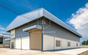 For RentFactorySamrong, Samut Prakan : ให้เช่าโรงงงาน สไตล์โมเดิร์น สำนักงาน 2 ชั้น ต.บางปลา อ.บางพลี สมุทรปราการ  factory for rent Modern style, 2-storey office, Bang Pla Subdistrict, Bang Phli District, Samut Prakan