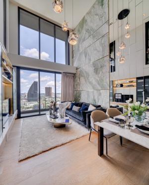 For SaleCondoSukhumvit, Asoke, Thonglor : Junior Penthouse แต่งครบ