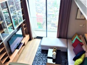 For RentCondoRatchathewi,Phayathai : ✅ให้เช่า Duplex 2ห้องนอน 2ห้องน้ำ ขนาด 80 ตร.ม. ชั้น 18-19 เฟอร์นิเจอร์ครบ พร้อมเข้าอยู่ ราคาเช่า 40,000 บาท/เดือน
