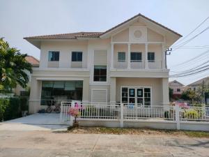 For SaleHouseLadkrabang, Suwannaphum Airport : ขายบ้านเดี่ยว2ชั้น(ค้างสต็อค) 79.29 ตรว. หมู่บ้านบุรีรมย์ The Innovation เทพารักษ์-สุวรรณภูมิ สมุทรปราการ