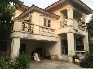 ขายบ้านมีนบุรี-ร่มเกล้า : ขายบ้านเดี่ยว 79 ตรว. หมู่บ้านบุรีรมย์ คู้บอน 41 คลองสามวา ราคาถูกมาก!!!