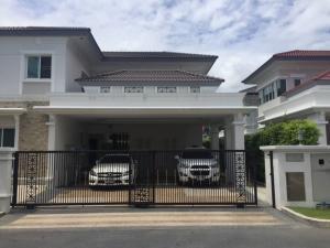 เช่าบ้านนครปฐม พุทธมณฑล ศาลายา : Rental/Selling : House with Private Pool in Puttamonton Sai 2 , 5 Bed 4 Bath , 2 Floors , 161 sqw , 500 sqm