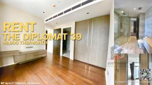เช่าคอนโดสุขุมวิท อโศก ทองหล่อ : ให้เช่า Diplomat39 1bed(L) 60ตร.ม. เคลียวิว ห้องใหม่ไม่เคยมีคนอยู่ เพียง 49,900/เดือน สัญญา 1ปี