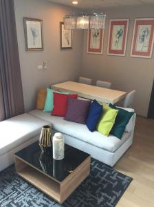 For RentCondoRatchathewi,Phayathai : Pyne by Sansiri -Duplex 2beds Hot Deal **For Rent only 40K High floor Nice room Contact 087-7071977