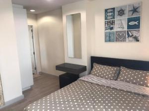 For RentCondoOnnut, Udomsuk : ห้องกว้าง ห้องสวย สภาพดี ใกล้บีทีเอส ให้เช่า The Link Vano ซอยสุขุมวิท 64 1 ห้องนอน และ 1 ห้องน้ำ ขนาด 36 ตารางเมตร ชั้น 8
