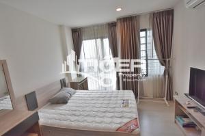 For RentCondoRama9, RCA, Petchaburi : RACR09 1-bedroom Studio condo for rent at Rhythm Asoke ll, Very nice room and convenience location